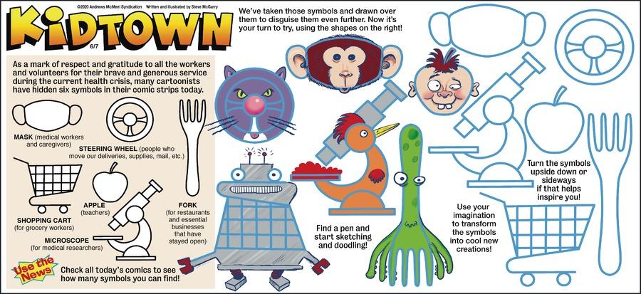 KidTown Comic Strip for June 07, 2020