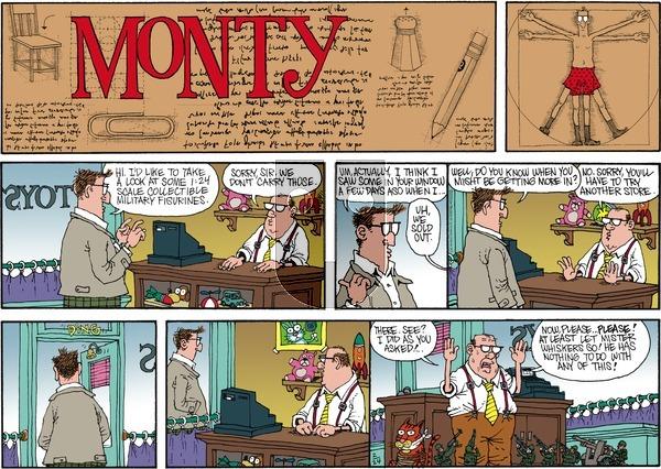 Monty on Sunday February 24, 2013 Comic Strip