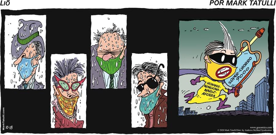 Lio en Español Comic Strip for October 18, 2020