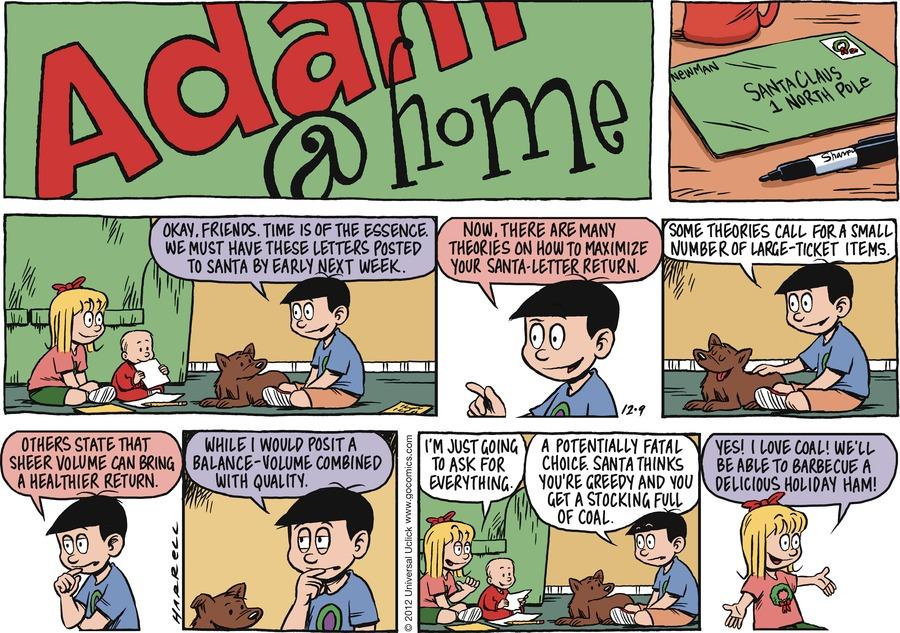 Adam@Home for Dec 9, 2012 Comic Strip