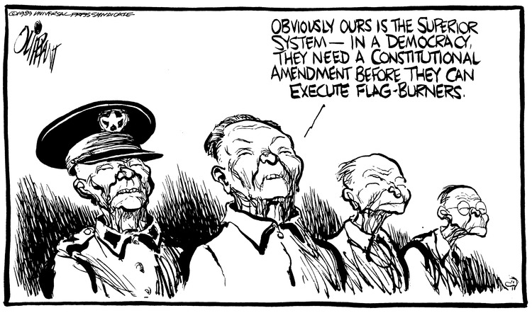 Pat Oliphant Comic Strip for June 25, 1989