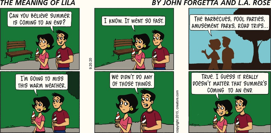 The Meaning of Lila Comic Strip for September 20, 2020