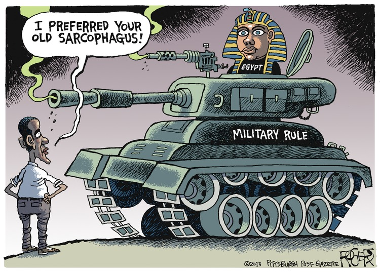 Rob Rogers Comic Strip for August 18, 2013