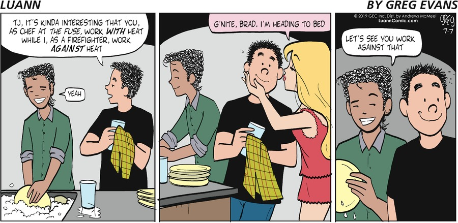Luann Comic Strip for July 07, 2019