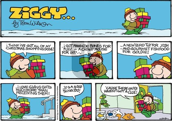 Ziggy - Sunday December 15, 2019 Comic Strip