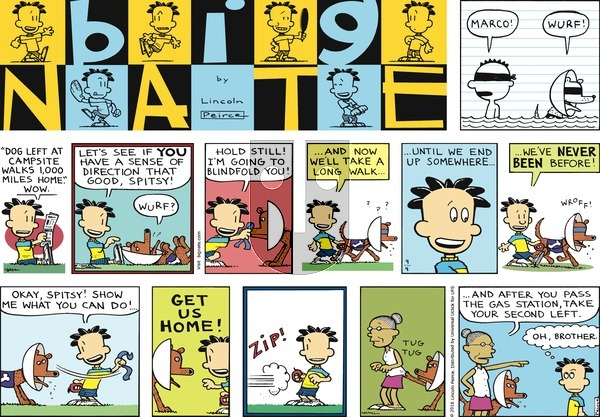 Big Nate on Sunday September 4, 2016 Comic Strip