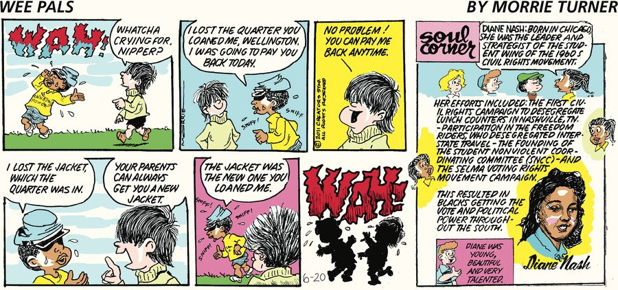 Wee Pals Comic Strip for June 20, 2021