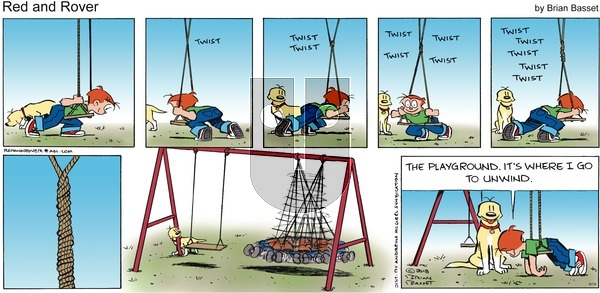 Red and Rover on Sunday September 19, 2021 Comic Strip