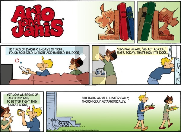 Arlo and Janis on Sunday April 26, 2020 Comic Strip