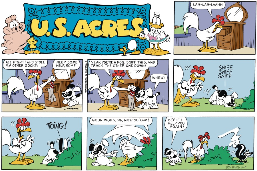 U.S. Acres Comic Strip for June 26, 2016