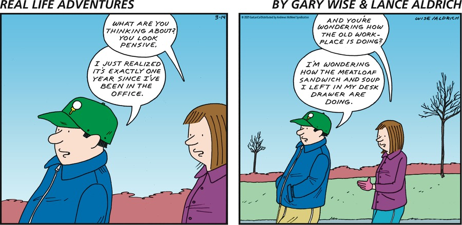 Real Life Adventures Comic Strip for March 14, 2021