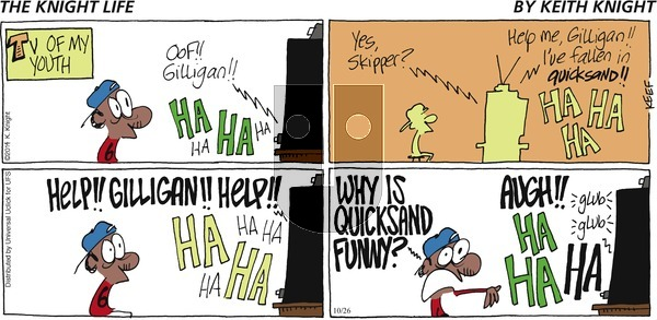 The Knight Life on Sunday October 26, 2014 Comic Strip