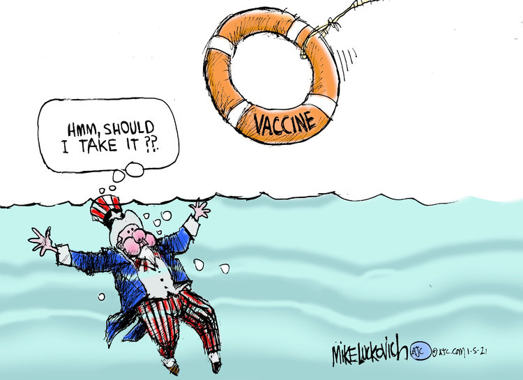 Mike Luckovich Comic Strip for January 05, 2021