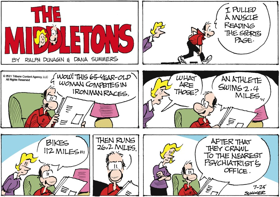 The Middletons Comic Strip for July 25, 2021