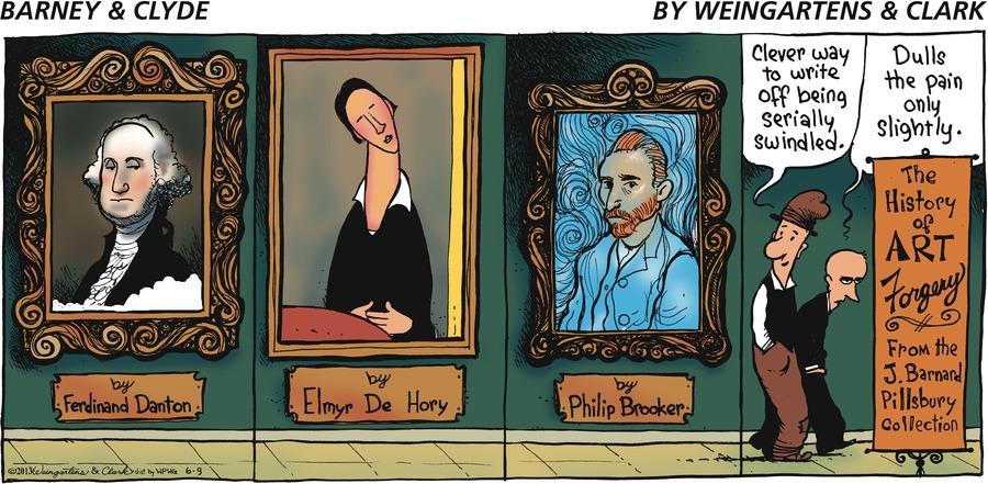 Barney & Clyde for Jun 9, 2013 Comic Strip