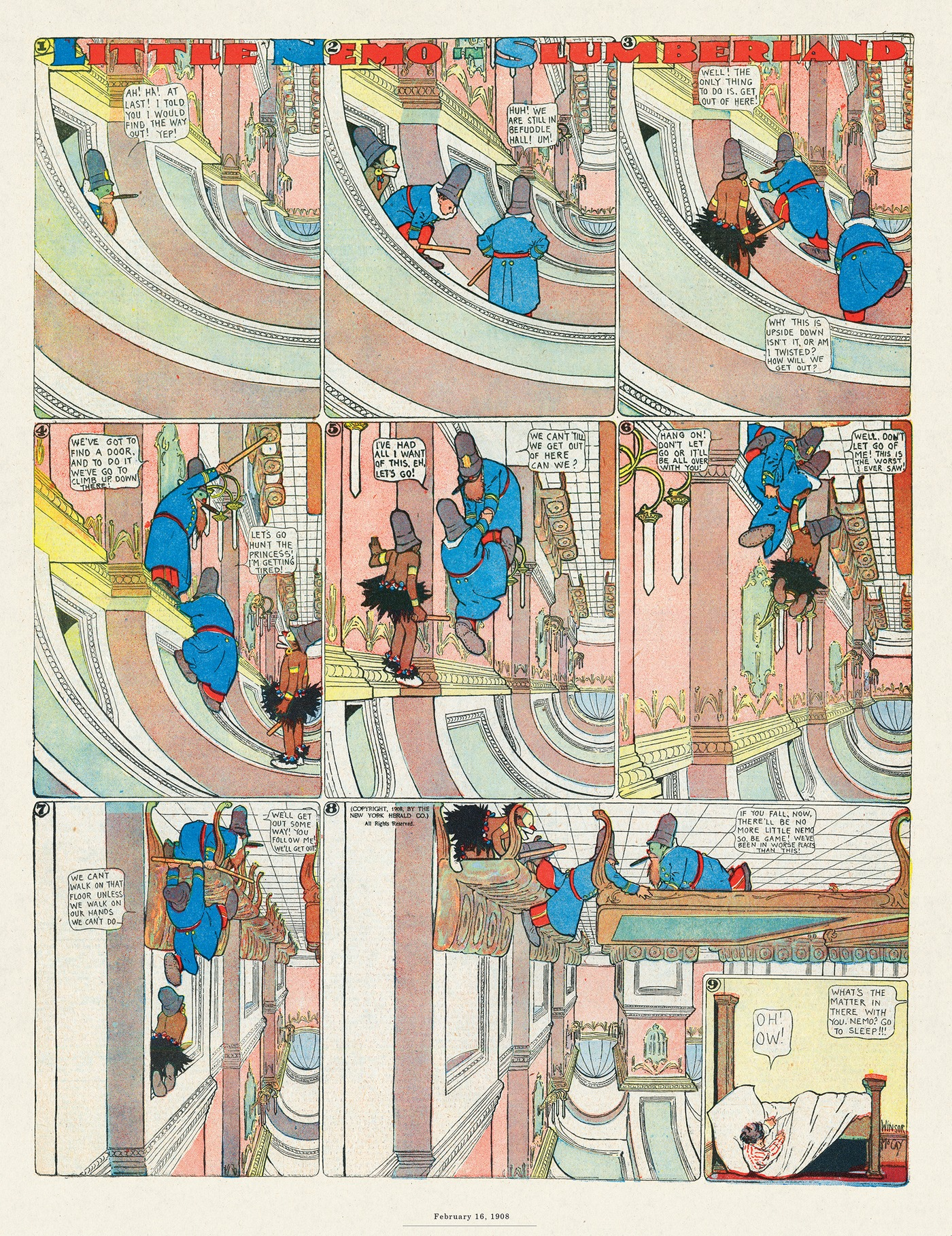 Little Nemo by Winsor McCay on Thu, 17 Sep 2020