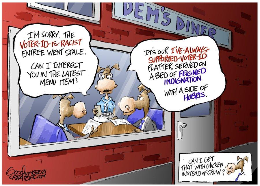 Al Goodwyn Editorial Cartoons Comic Strip for July 24, 2021