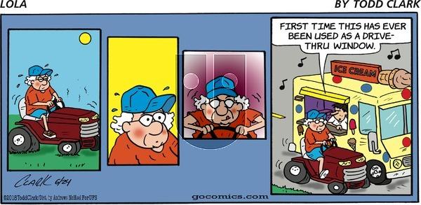 Lola on Sunday June 24, 2018 Comic Strip