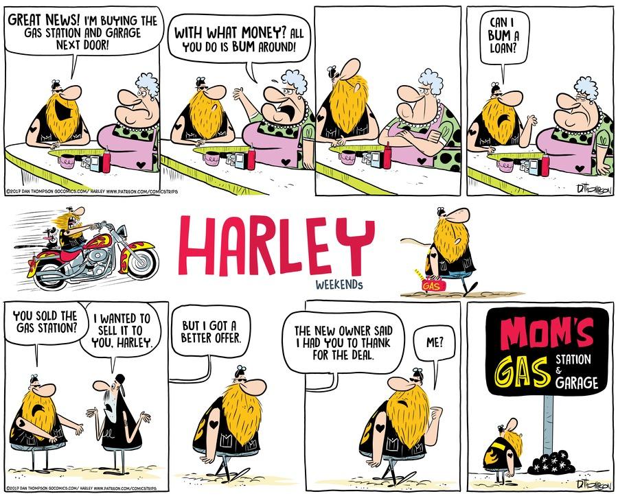 Harley Comic Strip for January 17, 2021