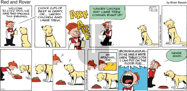 Red and Rover on Sunday February 21, 2021 Comic Strip