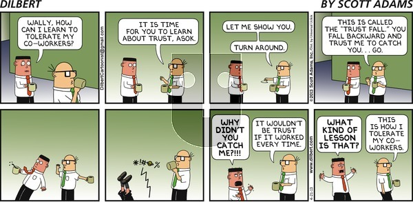 Dilbert - Sunday April 21, 2013 Comic Strip
