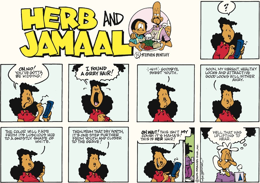 Herb and Jamaal Comic Strip for May 03, 2015