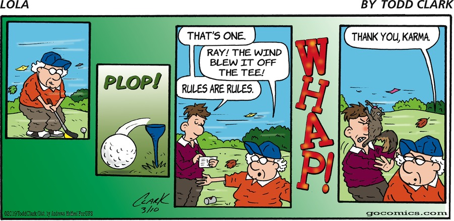 Lola by Todd Clark for March 10, 2019