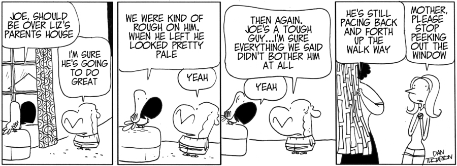 Lost Sheep Comic Strip for July 08, 2013