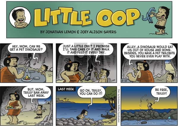 Alley Oop on Sunday February 10, 2019 Comic Strip