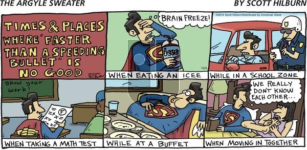 The Argyle Sweater - Sunday October 5, 2014 Comic Strip