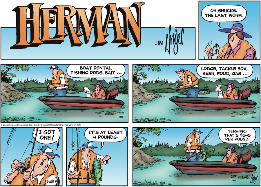 Herman Comic Strip for February 12, 2012