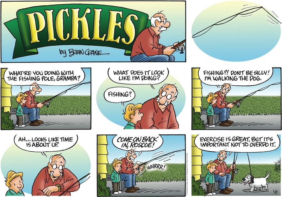 Pickles for Jan 5, 2014 Comic Strip