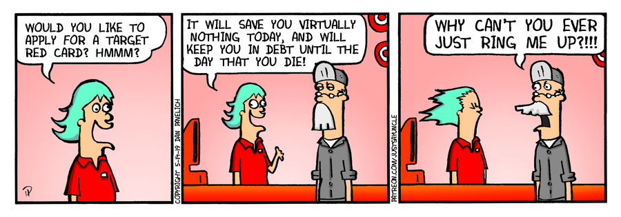 Just Say Uncle Comic Strip for May 14, 2019