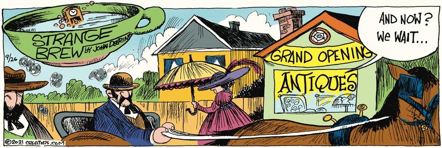 Strange Brew Comic Strip for September 26, 2021