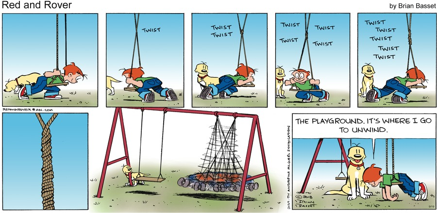 Red and Rover Comic Strip for September 19, 2021