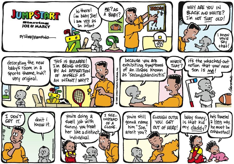 JumpStart for Jul 12, 1998 Comic Strip