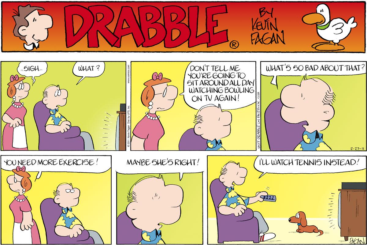 Drabble for Feb 27, 2011 Comic Strip