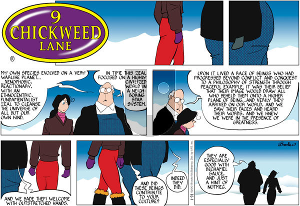9 Chickweed Lane on Sunday January 31, 2010 Comic Strip