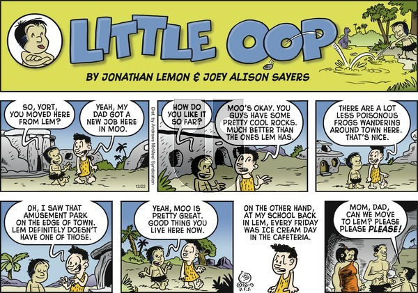 Alley Oop on Sunday December 22, 2019 Comic Strip