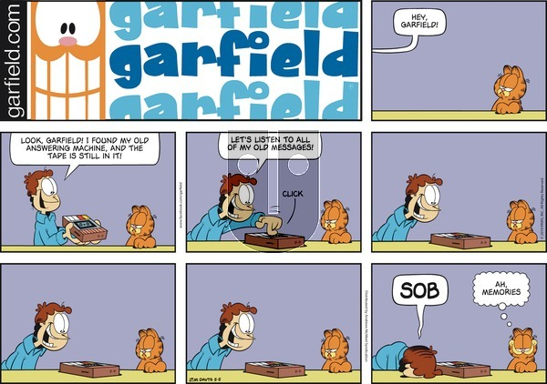 Garfield on Sunday May 5, 2019 Comic Strip