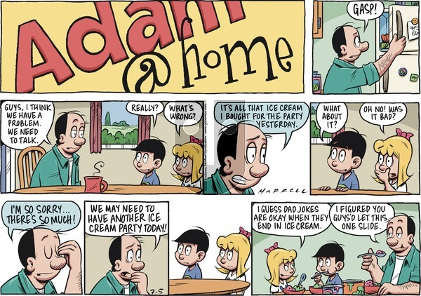 Adam@Home on Sunday July 5, 2020 Comic Strip