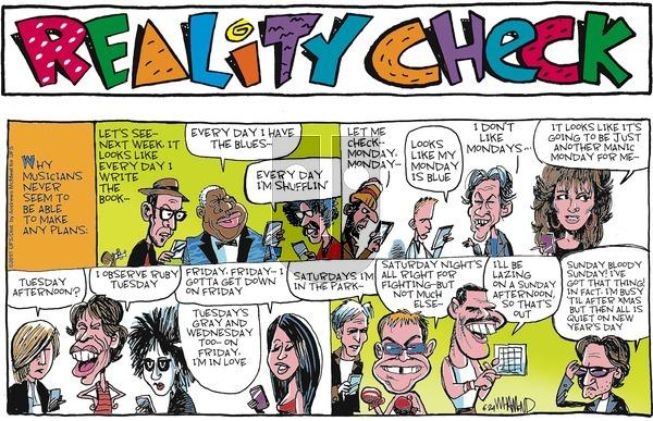 Reality Check on Sunday June 24, 2018 Comic Strip
