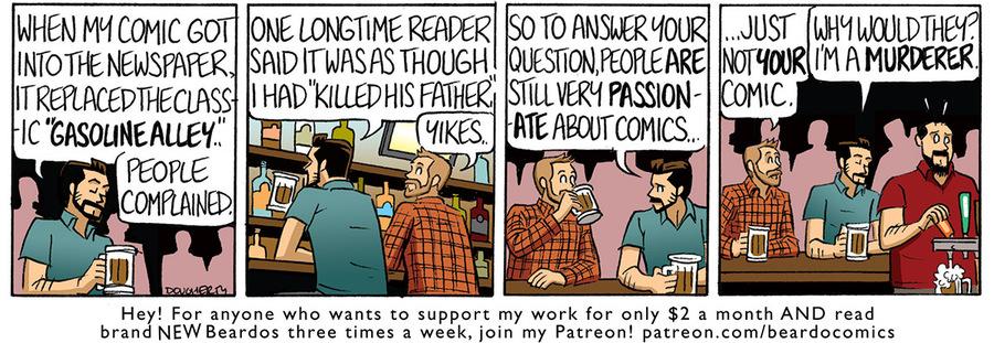 Beardo Comic Strip for November 22, 2020