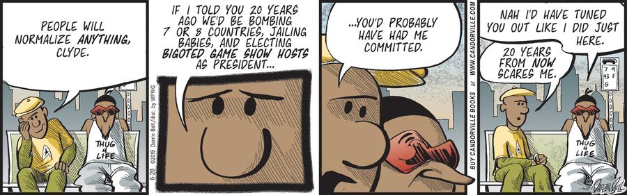 Candorville Comic Strip for June 28, 2019