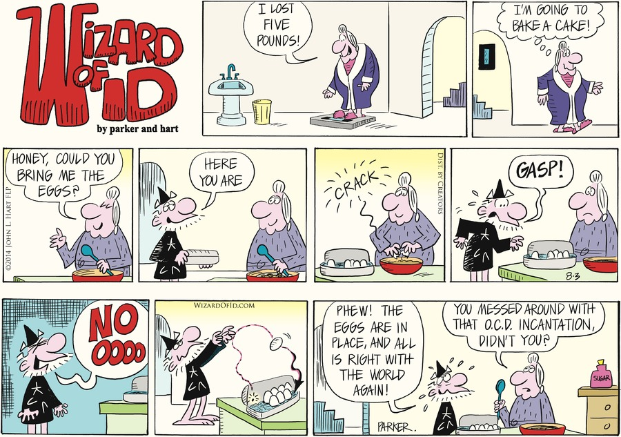 Wizard of Id for Aug 3, 2014 Comic Strip