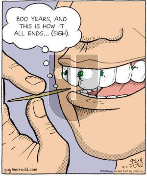 Brevity on Monday December 4, 2006 Comic Strip