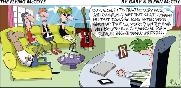 The Flying McCoys on Sunday May 2, 2021 Comic Strip