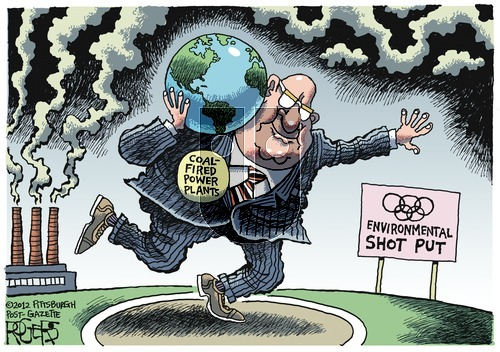 Rob Rogers on Sunday August 12, 2012 Comic Strip