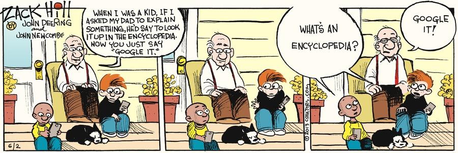 Zack Hill Comic Strip for June 02, 2013