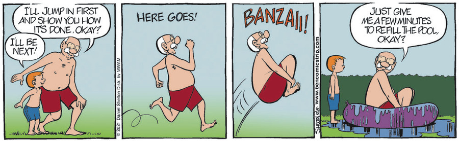 Ben Comic Strip for June 10, 2021